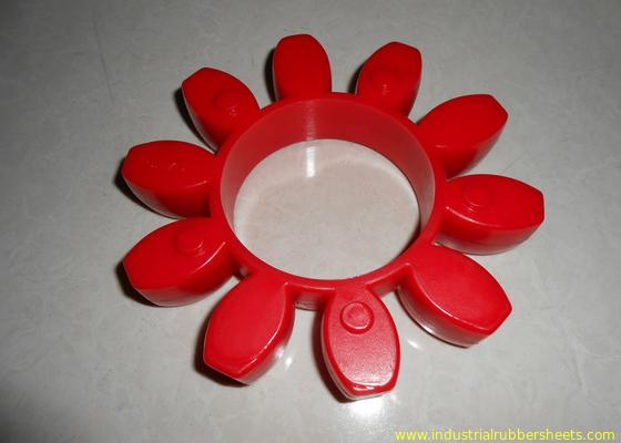 Chiny Nosić odporne na zużycie czerwone złącze poliuretanowe, 98 Shore A sprzęgło GR lub PU dystrybutor